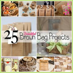 25 Brown Paper Bag Projects