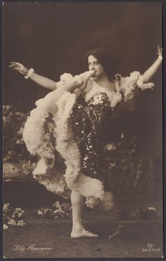 Circus and Vaudeville Contortionist Lily Flexmore