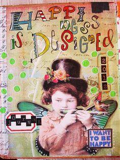 Kandeland's journal page via Flickr