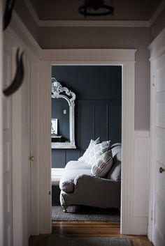 #grey on walls