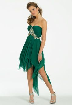 Hanky Hem Short Dress from Camille La Vie and Group USA