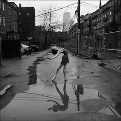 NYC. A little of beauty can neutralize squalor and degradation // The Ballerina Project