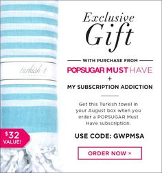 30 Left! POPSUGAR Must Have MSA Coupon Code Extended! | My Subscription Addiction