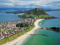 Our Wedding location, Mount Manganui - New Zealand