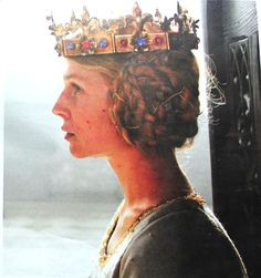 Clemence Poesy as Isabella Valois in upcoming Richard II movie.