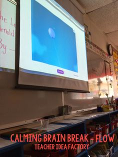 FREE Calming Brain Breaks - perfect for those long afternoons!