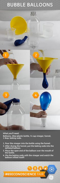 diy float, diy science for kids, helium diy, helium balloons diy, float balloon, chemical reactions for kids, how to blow up balloons, kid stuff, diy helium