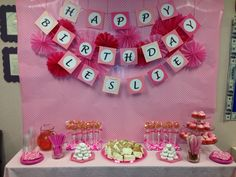 Pink office birthday party!!