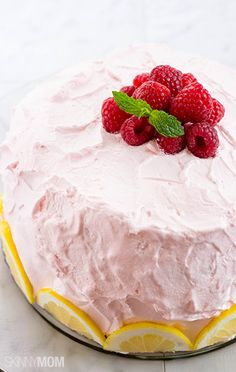 Talk about the perfect summer dessert! You have to try our raspberry lemonade cake.