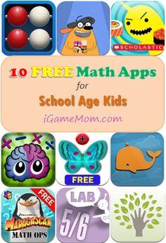 10 FREE Math Apps