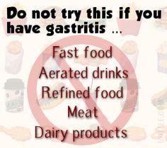 Gastritis: Foods to Avoid