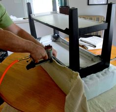 How to Upholster a Bench | Chatfield Court.com