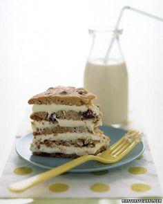 Giant Chocolate Chip Cookie Cake - Martha Stewart Recipes