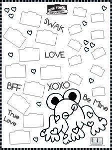 valentine box designs school