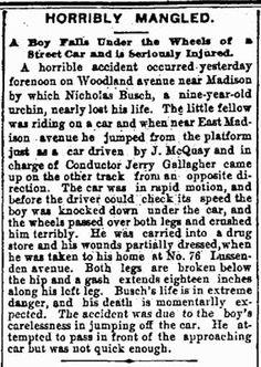 Tangled Trees: The Tragic Death of Nicholas Busch