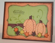 fall  - pumpkins & leaves