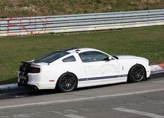 Fotos do Ford Mustang Shelby GT 500 V8 - o motor mais potente do mundo