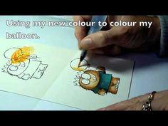 Using InkTense pencils - Derwent  And water.