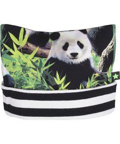 Adorable bonnet 'Pandas' par Molo #emilea