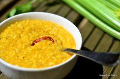 UK Rasoi : Bengali Dal :: Yellow lentils cooked in Bengali style