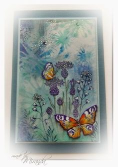 'Mir'acle Art Inspirations: Butterflies and flowers ..........