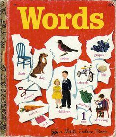 Little Golden Book - Words