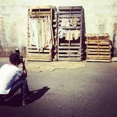#celadon #photoshoot #warehouse #palets celadonathome.com