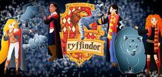Disney Hogwarts students: Gryffindor by Willemijn1991.deviantart.com on @deviantART