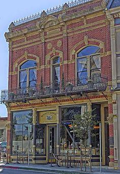 The Bounty Hunter Wine Bar and BBQ in downtown Napa, California