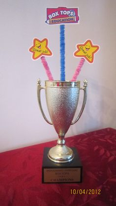 Traveling Box Tops Trophy
