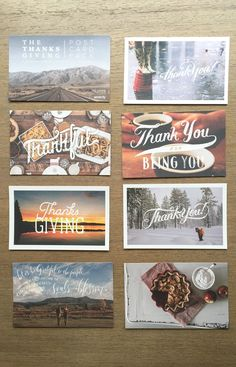 NEW: The limited edition #Thanksgiving postcard pack by #Sevenly - Send a Thank You note to 7 people who matter to you.