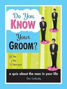 How Well Do You Know Your Groom? She thinks she knows everything about the man she's chosen to marry. This little book will show how little she reall... #weddings #bridal