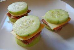 Cucumber sandwiches.