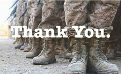 Thank you United States Marine Corps