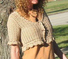 Ravelry: 29-210-21 Crochet Bolero pattern by Pierrot (Gosyo Co., Ltd)