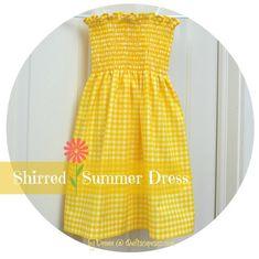 Shirring tutorial #rileyblakedesigns #shirring #gathers #sewingtutorial