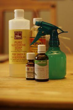 DIY Eco-friendly shampoo