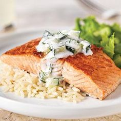 20-Minute Skillet Salmon Recipe from our friends at Philadelphia Cream Cheese