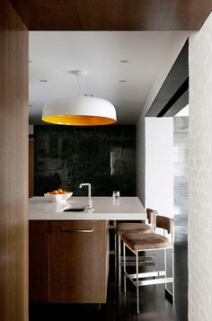 Laight Street Loft kitchen by DHD Architecture
