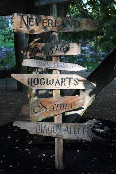 Garden sign. :)