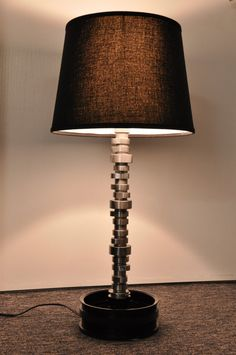 Hey, I found this really awesome Etsy listing at http://www.etsy.com/listing/112718827/corvette-camshaft-lamp-tabledesk-car