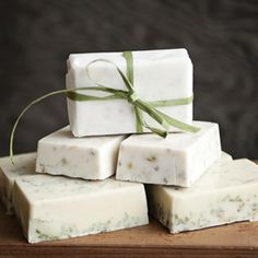 How To Make Pretty Eco-Friendly Soaps For Favors, Shower Gifts or Just Because