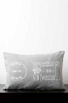 Postage Pillow //