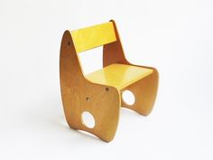 Plywood Children's Chair  Russia, 1960s