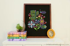 LOVE this project, from the book 'Anna Maria's Needleworks Notebook'. Stitched by blogger Allison at http://www.littleloveliesbyallison.com ;)