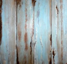 faux wood painting