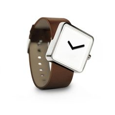 Slip Watch Stainless Brown