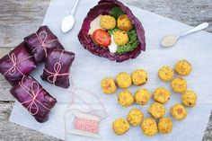 ... Saffron Falafel, Mustard Quinoa, Cranberry & Kale Salad, Frozen