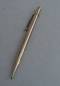 Vintage Mechanical Pencil Smooth Rolled Gold Made in England Circa 1930s £15 #FollowVintage