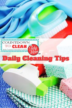 Countdown to Clean Series: Daily Routines